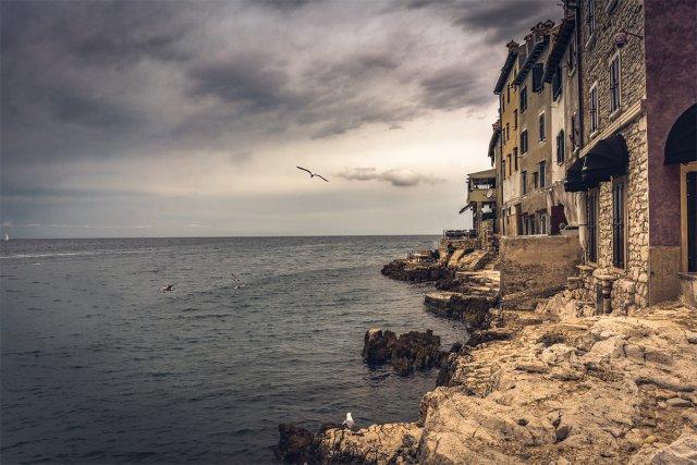 Küstenhäuser von Ralph Derksen Fotografie