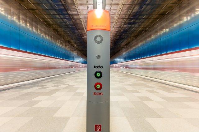 U-Bahn-Haltestelle Überseequartier II von Tobias Hucker