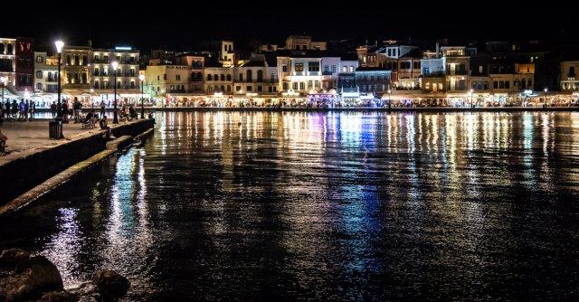 Alter Hafen Chania von David Alberts