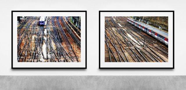 Metro, Paris von Gernot Schwarz