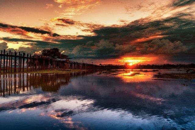 Sonnenaufgang von Joachim Kopatzki