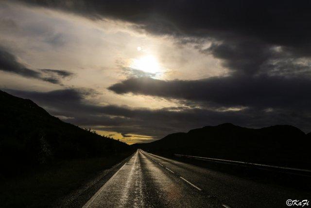 Highlandroad von FotoKaFi