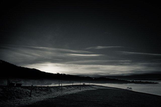 Sonnenuntergang im Winter von Gast (35619)