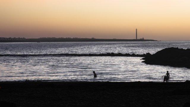 abends am Meer von reibol