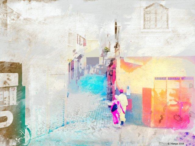 Walking through Morocco von Gabi Hampe