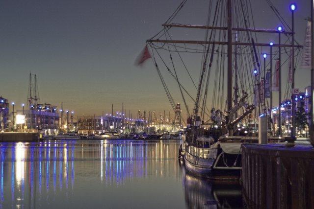 Der Hafen von Bremerhaven von lichtbild