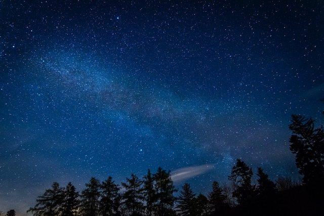 The Milky Way - Zieflesberg, Schwarzwald, 2017 von konturger