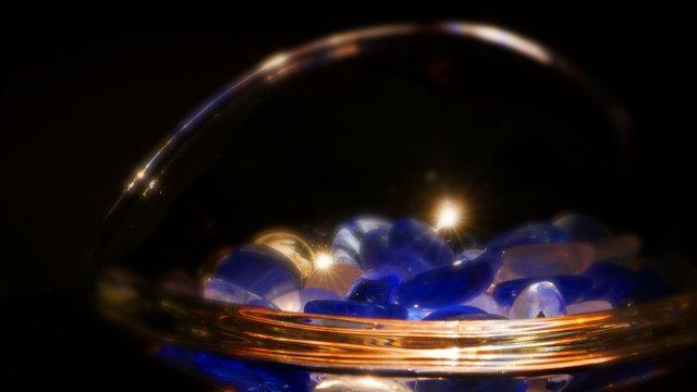 Blaue Glut von Pi Leo