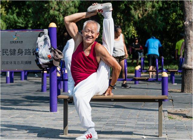 80 Jahre und kein bisschen Steif! von Manfred Fessel