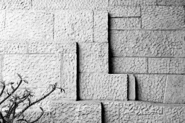 stone wall von robinio