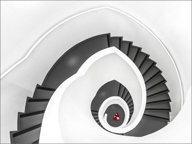 Leica Treppe von Herbert  A Franke