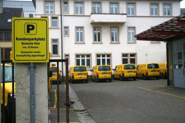 Parkplatzsuche von haffe