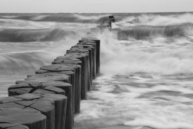 Wellen und Buhnen von papua1