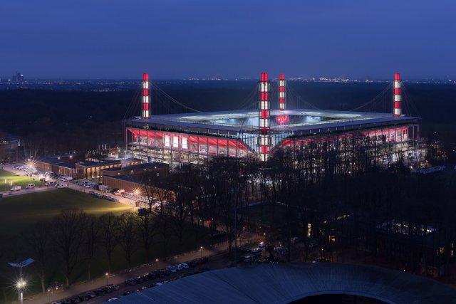 RheinEnergieStadion - 1. FC Köln – Rheinisches Derby 2018 I von Dieter Golland