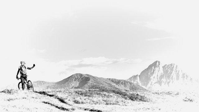 Mountainbiken... von Texas Longhorn
