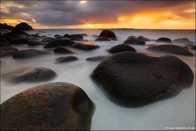 Uttakleiv Beach Lofoten III von Stefan Bock