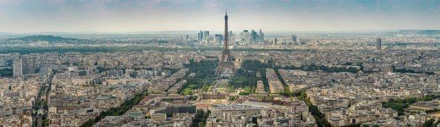 Panorama Paris von Fotoblogger