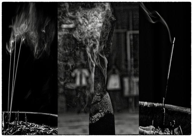 heiliger Rauch . . .    GI - Triptychon von Bernd Seibel
