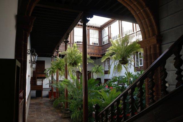Innenhof Altstadt La Laguna, Teneriffa von HansIN