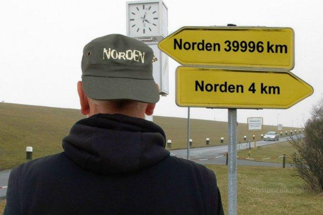 Nordnordnord von Schmunzelkunst