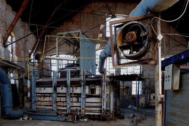 alte Glasfabrik von Der Purist