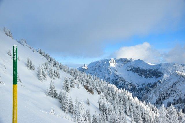 Winter am Tegelberg von blackbaker