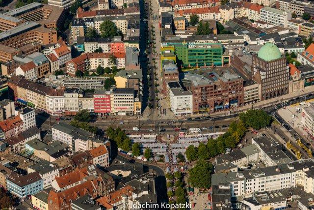Flug über Hannover-City von Joachim Kopatzki