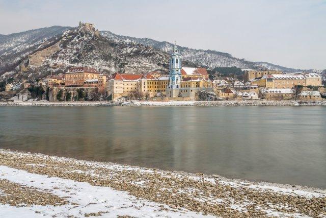 Dürnstein im Winter von abin