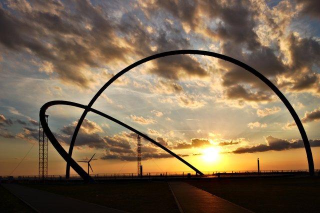Halde Hoheward, Sonnenuntergang von wituweb