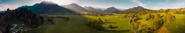 Drohenpanorama Oberstdorf von Fotoblogger
