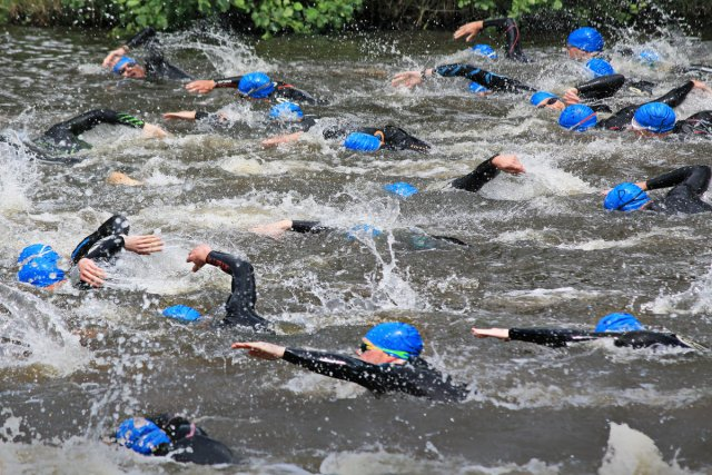Triathlon von Reiner von der Schlei