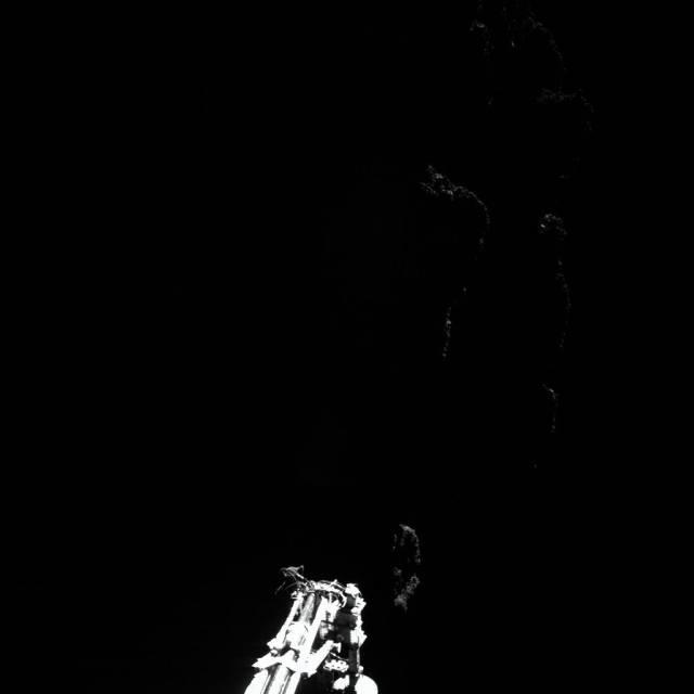 Die ersten Bilder vom Kometen
