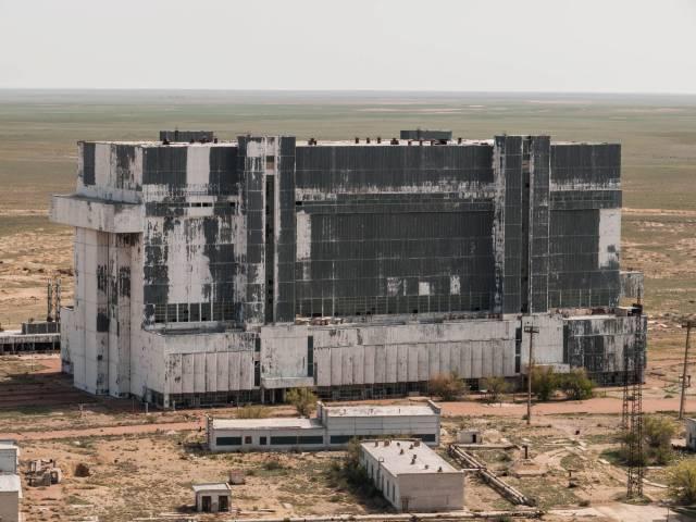 Buran-Orbiter in Kasachstan