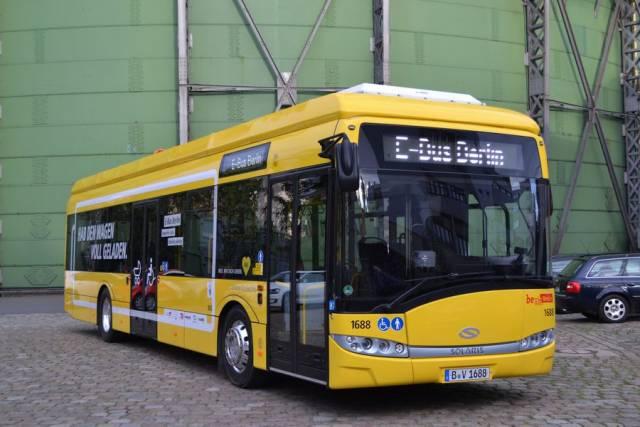 Der E-Bus in Berlin