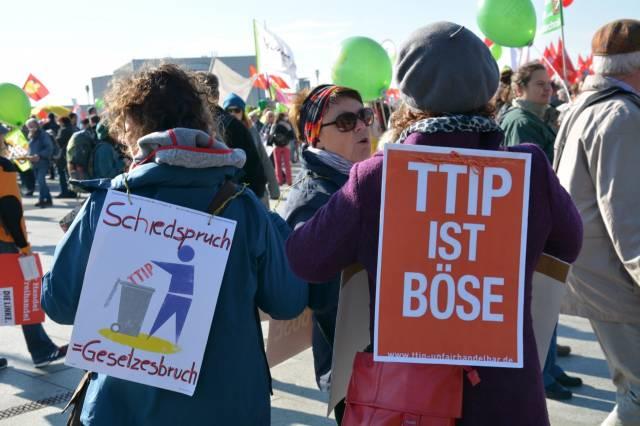 Anti-TTIP-Großdemo