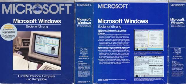 30 Jahre Windows – Version 1.0