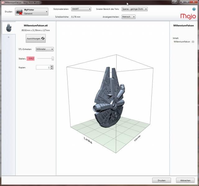 3D-Drucker Statasys Mojo
