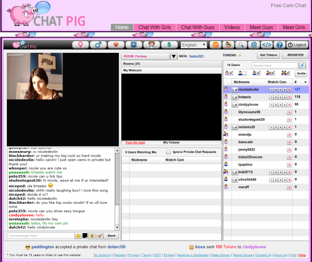 Cam chat alternativen