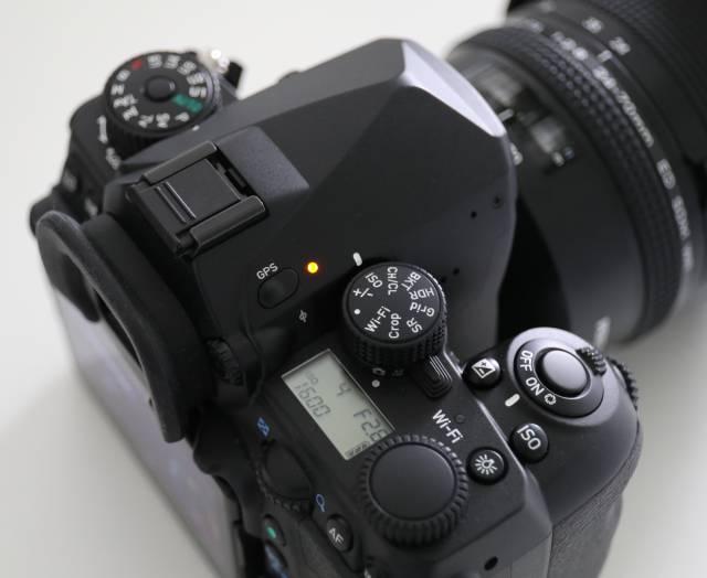Pentax K-1 Autotracer GPS