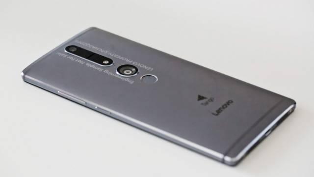 c't-Hands-on: Project-Tango-Smartphone Lenovo PHAB2 Pro