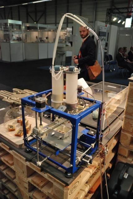 Ungewöhnliches 3D-Druck-Material auf der FabCon 3.D / Rapid.Tech 2016