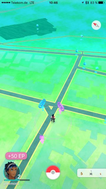 Pokemon Go, erste Eindrücke