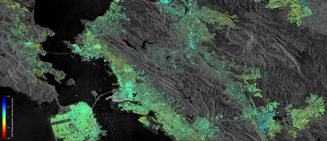 Contains modified Copernicus Sentinel data (2015–16) / ESA SEOM INSARAP study / PPO.labs / Norut / NGU