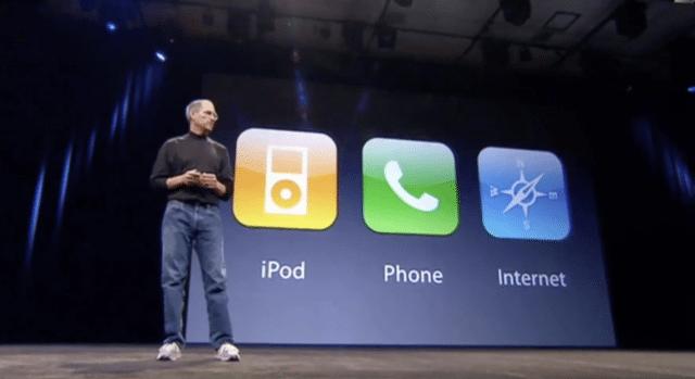 10 Jahre iPhone: Steve Jobs stellt das iPhone vor