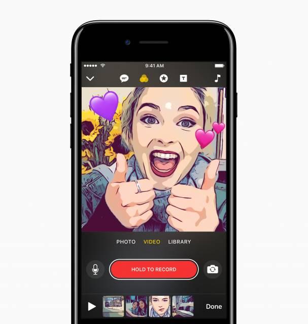 Apples neue Clips-App