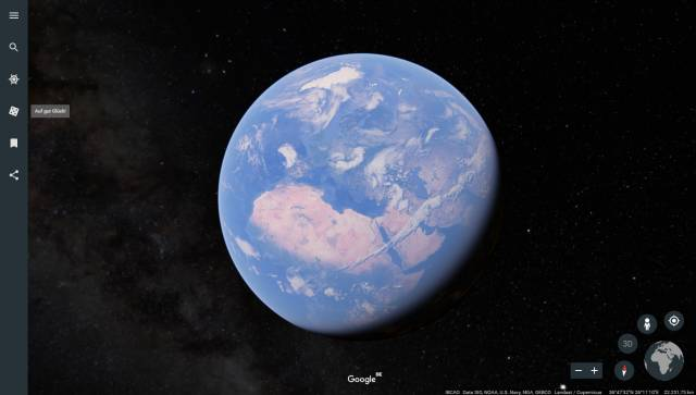Das neue Google Earth