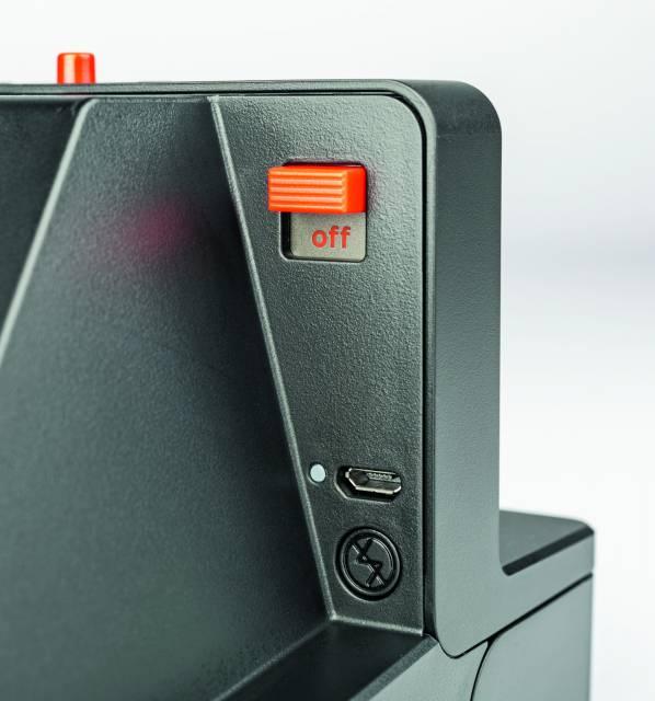 Polaroid OneStep+ von hinten