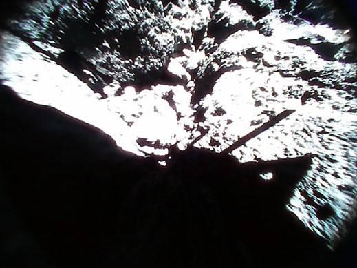 Fotos von der Oberfläche Ryugus