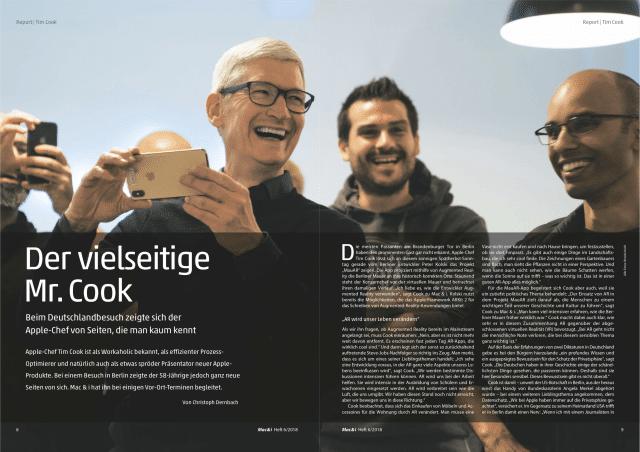 Mac & i 6/2018 – ein Blick ins Heft