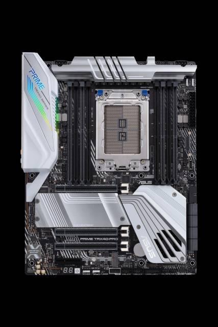 TRX40-Mainboards von ASRock, Asus, Gigabyte und MSI